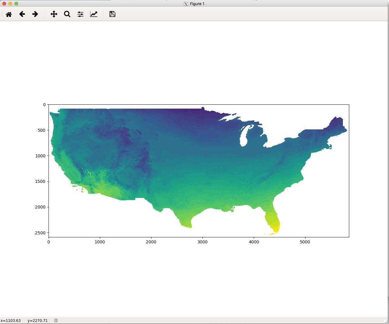 Open Remote Raster Dataset(geoTIFF) using GDAL | NASA Center